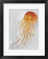 Framed Coastal Watercolor Brights 3