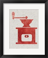 Framed Kitchen Watercolor Brights 3