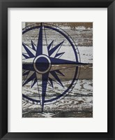 Framed Coastal Nautical 3