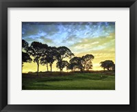 Framed Golf Course Painted Border