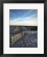 Framed Sand Fence With Border