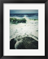 Framed Wave Curl Painting With Border