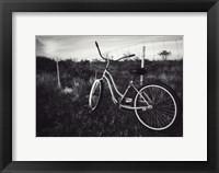 Framed Bike BW With Border