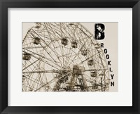 Brooklyn NY II Framed Print