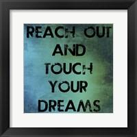 Framed Reach Out
