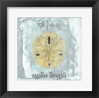 Framed Be Free Of Negative Thoughts