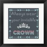 Framed Wear Your Crown
