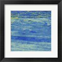 Framed Over The Deep Blue Ocean