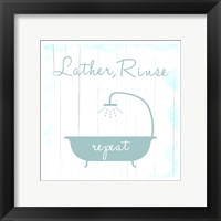 Framed Lather And Rinse
