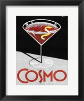 Framed Retro Cosmo Time