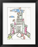 Framed Sketch Castle I