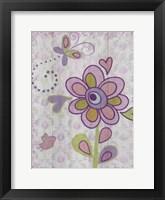 Framed Boho Flower II