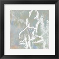 Framed Nude In Blue