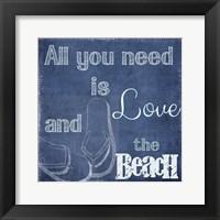 Framed Love And The Beach