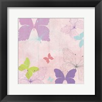 Butterfly Collage I Framed Print