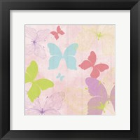 Butterfly Collage II Framed Print