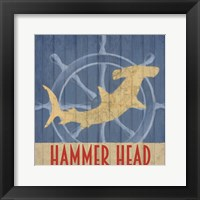 Framed Hammer Head
