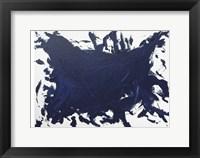 Framed Indigo Blue Trend 2