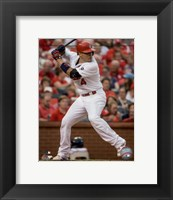 Framed Yadier Molina 2015 Action