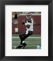Framed Jameis Winston 2015 Action