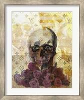 Framed Skulls And Diamonds