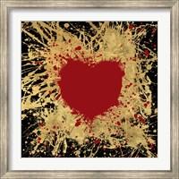 Framed Heart of Gold 1