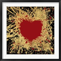 Framed Heart of Gold 1