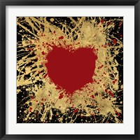 Heart of Gold 1 Framed Print