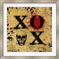 Framed Heart of Gold V