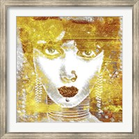 Framed Gold Girl