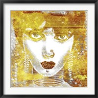 Framed Gold Girl