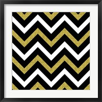 Framed Bling Chevron