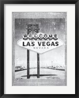 Framed Welcome to Vegas