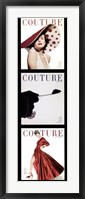 Framed Couture Panel