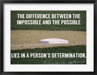 Framed Impossible and the Possible
