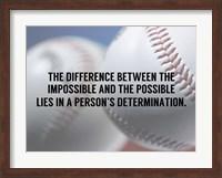 Framed Person's Determination