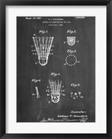 Framed Badminton Shuttle