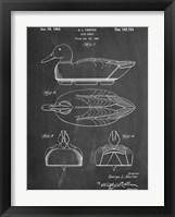 Framed Duck Decoy