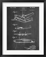 Framed Hughes Airplane