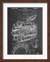 Framed Jet Engine