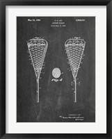 Framed Lacrosse Stick