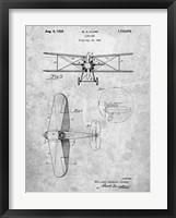 Framed W.D. Clark Plane A