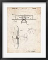 Framed W.D. Clark Plane C