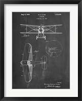Framed W.D. Clark Plane D