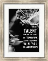 Framed Teamwork and Intelligence