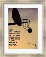Framed Expect Great Things