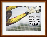 Framed Rising Everytime We Fall