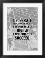 Framed Celebrate What You've Accomplished