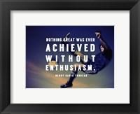 Framed Enthusiasm