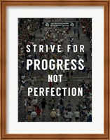Framed Strive for Progress